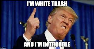 Im White Meme - trump about to lose it imgflip