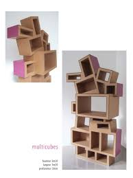 Etagere Grande Hauteur Meuble En Carton étagère Muebles De Cartón Pinterest