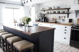 our modern farmhouse kitchen makeover reveal