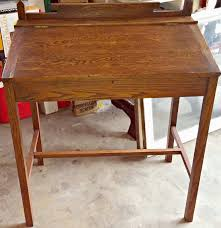 Antique Writing Table Before And After Antique Writing Desk Makeover Little Vintage