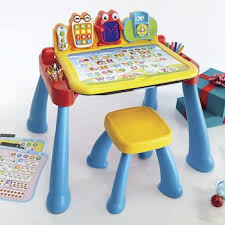 vtech table touch and learn touch learn activity desk deluxe by vtech from montgomery ward
