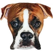 boxer dog doormat boxer plush photo real pillow walmart com