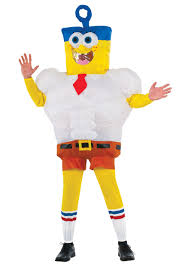 inflatable spongebob movie costume