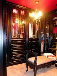 Black Closet Design Closet Classic Walk In Closet Black Style Chandelier And Bench