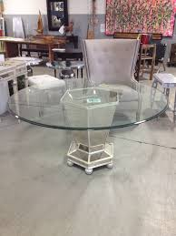 z gallerie borghese dining table mirrored round dining table dining room ideas