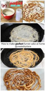 how to make funnel cake at home perfectly created by diane