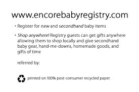 baby registry gifts encore baby registry encore second baby registry