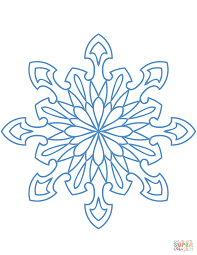 snow flake coloring pages snowflake coloring page free printable coloring pages