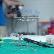 mini ts100 digital oled programable interface dc5525 soldering