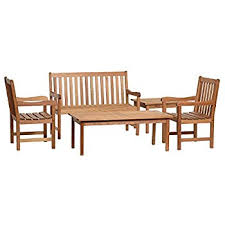 Milano Patio Furniture Amazon Com Amazonia Milano 5 Piece Seating Set Outdoor And