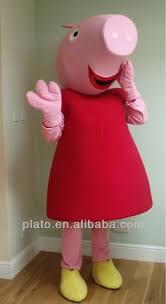 Toddler Pig Costume Halloween Peppa Pig Costume Red Jumper Dress Pink Leotard Pink Tights