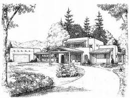 adobe house plans two story adobe home plan design 008h 0019 at