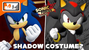 Shadow Costume Sonic Forces Shadow The Hedgehog Costume Pre Order Bonus For