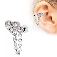 cartilage earring wholesale cartilage tragus earrings every jewelry