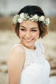 Hochsteckfrisurenen Hochzeit Klassisch by Die Besten Diy Brautfrisuren Für Kurze Haare Verspielt
