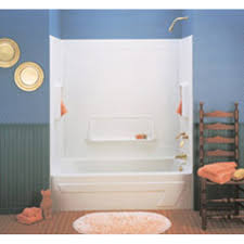 shower bathtub combo lowes bathtub surroundsshop bathtubs