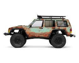 jeep bandit stock axial 2000 jeep cherokee rust bucket series body wrap teal by