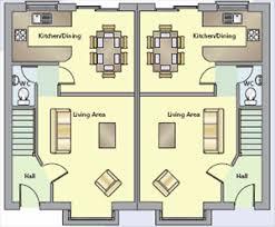 semi detached house floor plan townhouses apartments semi detached detached homes at carrigweir