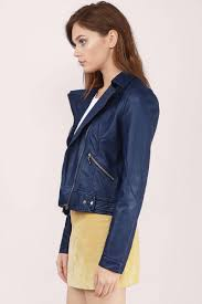 jacket moto navy jacket moto jacket faux leather jacket blue jacket au 27