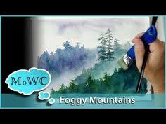 how to mount a watercolor painting on board youtube art