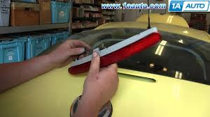 how to install replace 3rd third brake light 1998 10 vw beetle