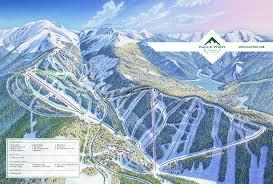 Map Of Utah Ski Resorts by Eagle Point Skimap Org