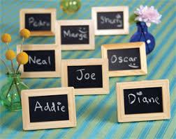 photo frame party favors mini chalkboard place frame favor 5 pcs garden theme wedding