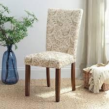 damask chair brown damask parsons chair kirklands