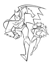 batman batgirl robin superman women superheroes coloring