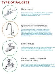 kitchen faucet adapter for garden hose countertop portable universal 5 stage reverse osmosis ro