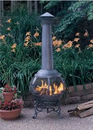 Cast Iron Outdoor Fireplace by Chimineas Fire Pits And Custom Made Safety Screens