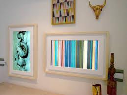 Interior Frames Digital Picture Frames Have Grown Up Into Wall Art Hgtv Smart