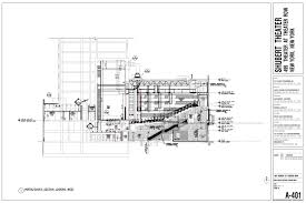 chicago theater floor plan stage 42 shubert organization