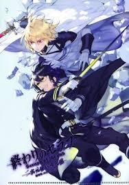 Owari No Seraph Light Novel Kureto And Shinya Hiiragi Owari No Seraph Light Novel Guren