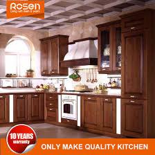 solid wood kitchen cabinets wholesale china customized country style solid wood kitchen cabinets