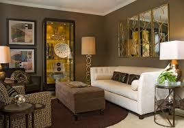 Art In Home Decor by Brilliant Brown Living Room Ideas In Home Decorating With Creative