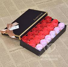delivery birthday presents 18 gradient soap roses christmas gift ideas birthday gift