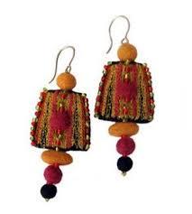 felt earrings felted wool earrings handmade gift shops wholesale supplier