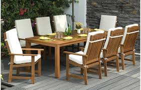 Garden Armchairs 8 Seater Dining Set With Cushions Outdoor Furniture Out U0026 Out