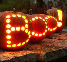 pumpkin lights using led string lights to illuminate pumpkins birddog lighting