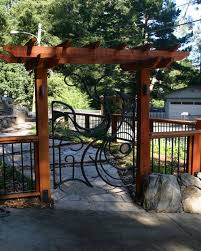 Pergola Top Ideas by Best 20 Arbor Gate Ideas On Pinterest Yard Gates Garden Gates