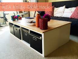 Ikea Expedit With Desk 35 Diy Ikea Kallax Shelves Hacks You Could Try Shelterness