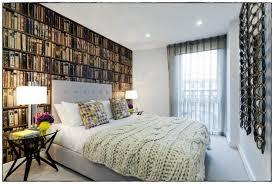 modele papier peint chambre papier peint chambre vintage coucher beige peinte en bleu garcon ado