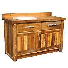 Rustic Bath Vanities Bathroom Vanity Ebay