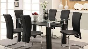 Dining Room Chairs Clearance Dining Tables Cracked Glass Room Table Sets Furniture Intended For