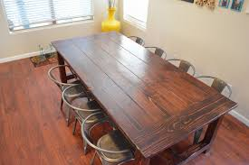 farmhouse tables for 8 or more