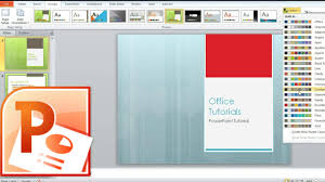 powerpoint design colors how to change slides design theme colors fonts and effects in