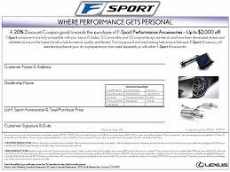 lexus dealer hawaii f sport accessories summer sale valid from 7 1 09 to 7 31 09