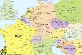 Map Of Switzerland And Germany by Hiking Map E1 South Gif