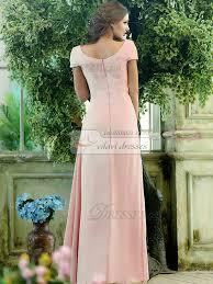 Light Pink Bridesmaid Dress Pink Bridesmaid Dresses With Sleeves Vosoi Com